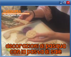 collegamento al video tutorial decorazioni di pasqua con la pasta di sale